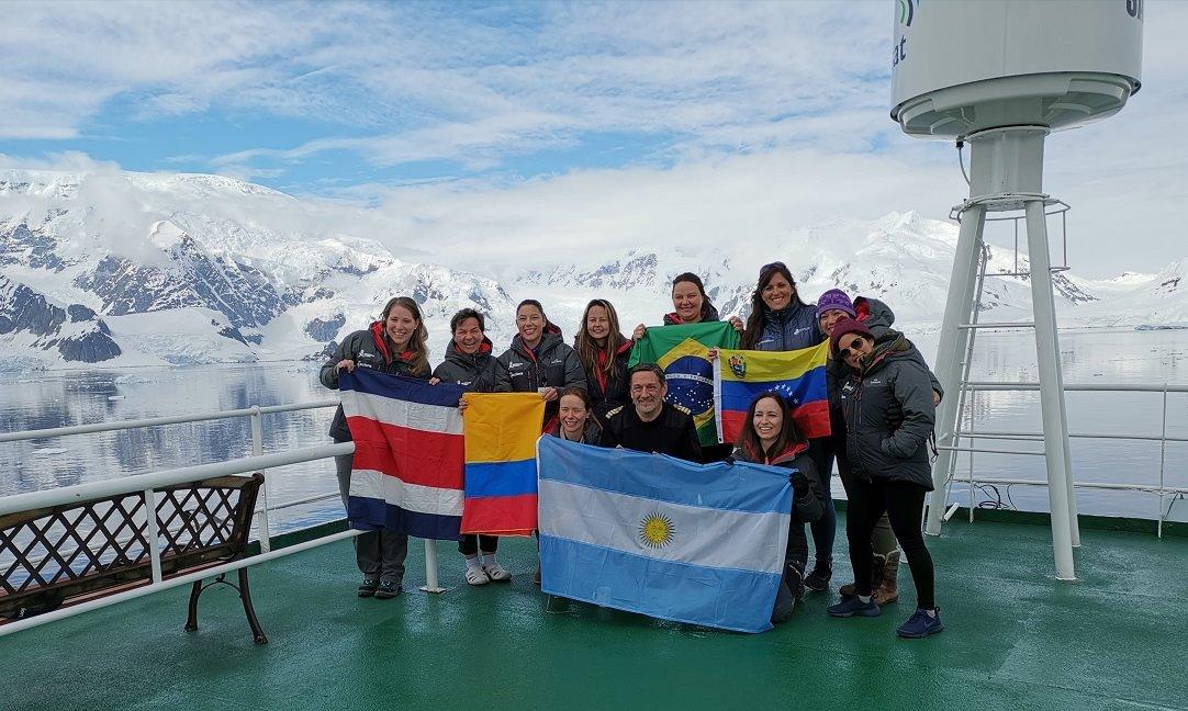 Once latinoamericanas participaron en el Homeward Bound